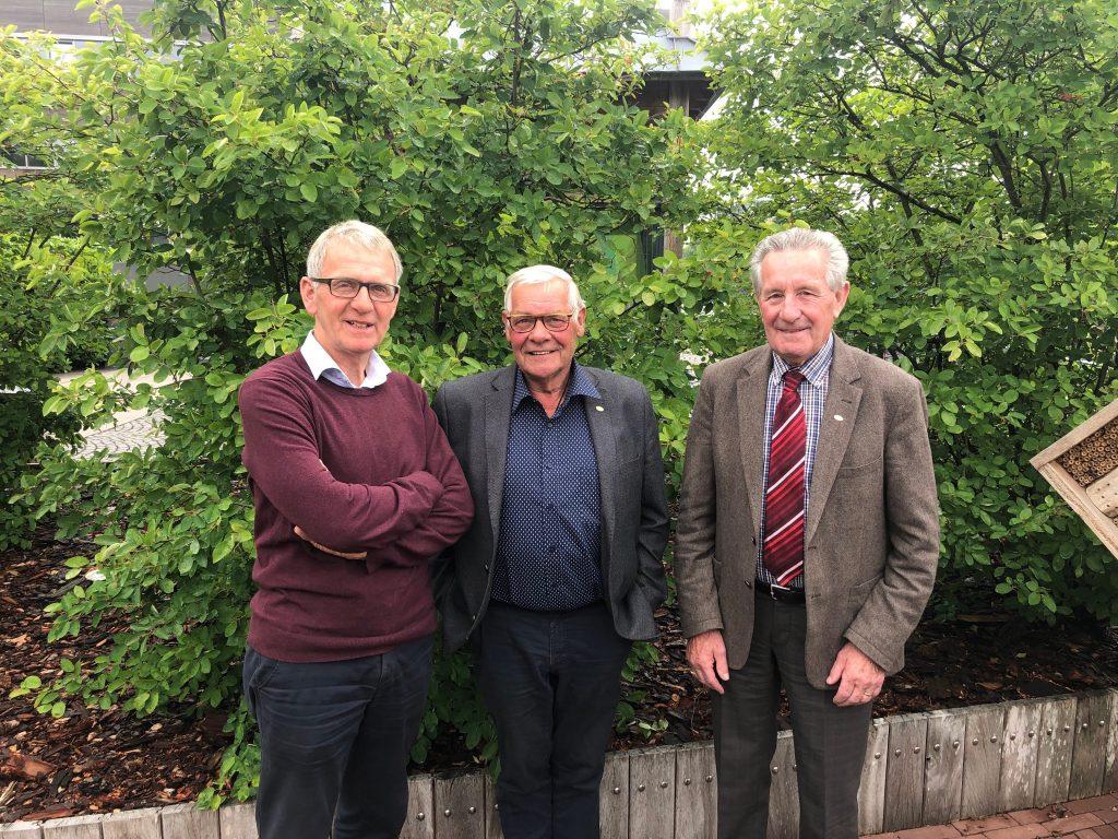 De voorzitters van de drie Brabantse Collectieven