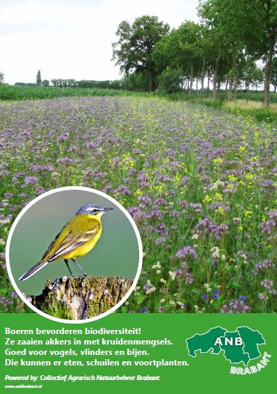 Nu ook klein formaat infopaneel voor Collectief Agrarisch Natuurbeheer Brabant!