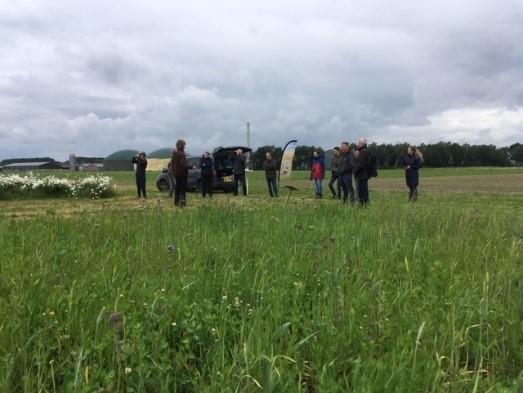 Geslaagde excursies i.v.m. monitoring naar de demovelden en plas dras van het Agrarisch natuurbeheer